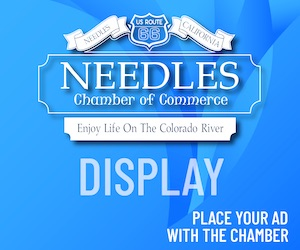 advertise on the needles chamber website